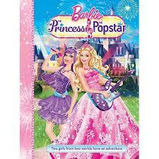 barbie princess popstar story book