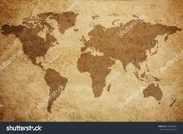 Ancient World Map by Ancient World Map Texture Background Stock Illustration 138304439