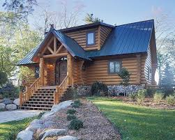 Log House Floor Plans Norway Knight Log Home Floor Plan By Hiawatha Log Home