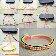 diy bracelet string images How to make diy 6 string braided friendship bracelet jpg
