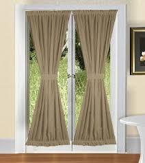 Sheer Door Curtains Platinum Voile Flowing Sheer Door Panel Curtainworks With