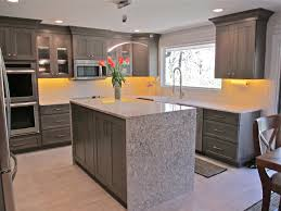 Island In Kitchen Pictures by Kitchen Trends Waterfall Edge Counter Tops Callier And Thompson
