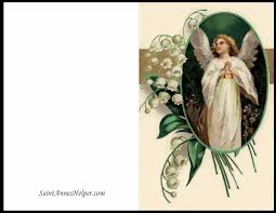 catholic christmas cards christmas printable cards angel and of the valley