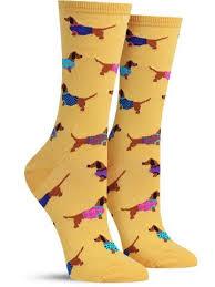 haute dog fun animal socks for women
