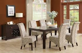 Upholstered Chairs Dining Room Room Designs With Upholstered Chairs