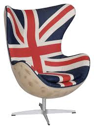Union Jack Dining Chair The Re Imagined Union Jack Egg Chair Via Andrew Martin Game On
