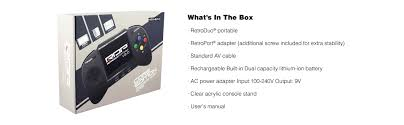 amazon nintendo 3ds 100 black friday amazon com retro bit rdp portable handheld console v2 0 core