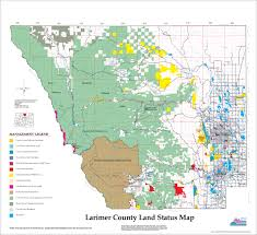 Colorado Wildfire Risk Map by Wildfire Maps Larimer County