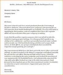 cover letter without name address