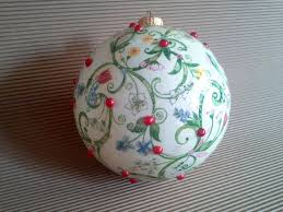 romantic christmas bauble shabby chic by malikdesign on zibbet