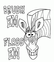 coloring pages of teeth