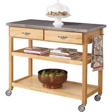 kitchen movable island kitchen kitchen cart with trash bin