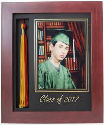 graduation tassel frame graduation tassel 5x7 picture frame mahogany 2017