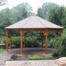 Backyard Gazebos For Sale by Large Wood Gazebos Country Lane Gazebos