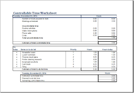 controllable time worksheet template ms excel excel templates