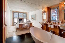 Open Bathroom Bedroom by Backstage Apartment Blue Zermatt U2022 Alpine Guru