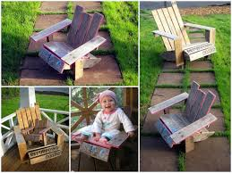 Recycled Adirondack Chairs Mini Pallet Adirondack Chair Diy Guide U2022 1001 Pallets