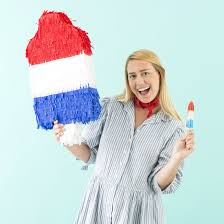 make this rocket pop piñata for your 4th of july bbq brit co