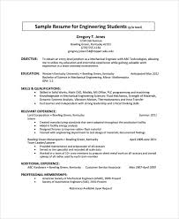 student resumes resume examples college students college career