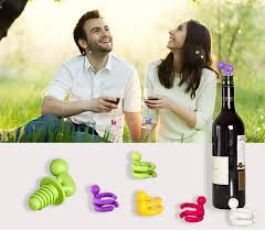 novelty wine glasses gifts online cheap 2015 small drunkard silicone chagne wine bottle