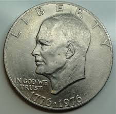 1776 to 1976 quarter dollar eisenhower dollar coins collectibles modern antiques