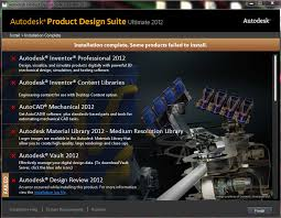 autodesk product design suite solved product design suite fails to install any program