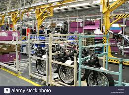 bmw factory production bmw motorcycle factory in berlin germany stock photo