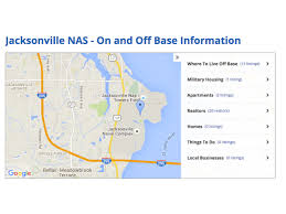 Jacksonville Florida Map Where To Live Near Nas Jacksonville U0026 Mayport Military Town Advisor