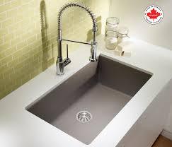 blanco metallic gray sink kitchen dining fabulous silgranit sink for your kitchen design