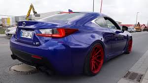 lexus rcf with turbo watch this rc f roast its tires and make loud noises with the