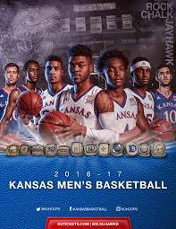 2016 17 kansas basketball media guide kansas jayhawks basketball