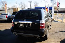 2005 acura mdx 4dr black suv used car sale