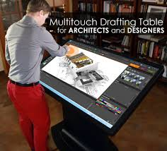 15 must have gadgets for architects multitouch drafting table for architects designers and engineers