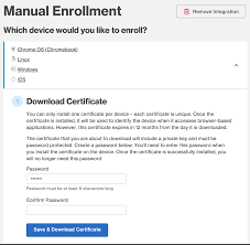 manual endpoint certificate deployment duo security