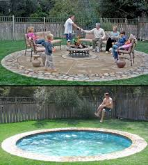 Backyard Ideas Pinterest Best 25 Small Backyard Pools Ideas On Pinterest Small Backyard