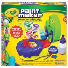 crayola paint maker assorted crayons pencils paints