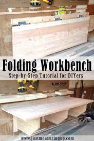 Work Bench With Storage Garage Workbench Custom Garage Cabinets Storage Workbench In