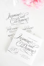Programs For Weddings Charming Script Wedding Programs U2013 Wedding Invitations