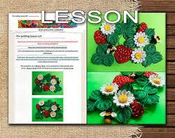 quilling designs tutorial pdf quilling lesson demo pdf art tutorial digital book flowers