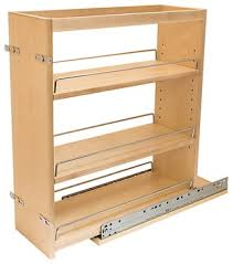 Spice Rack Knoxville Pull Out Kitchen Organizer Adjustable Shelf Organizer