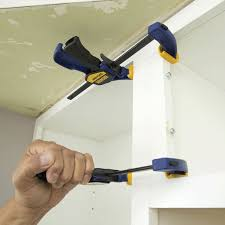 how to install cabinets with uneven ceiling how to install kitchen wall cabinets lowe s