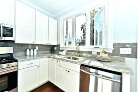 Kitchen Subway Tile Backsplashes Gray Subway Tile Kitchen Marshalldesign Co