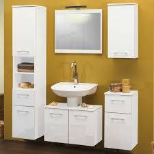 badezimmer m bel g nstig badezimmermöbel emily in weiß günstig kaufen wohnen de