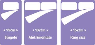 materasso king size misure materasso aerobed comfort superior rialzato