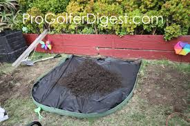 Building A Backyard Putting Green by How To Make A Diy Backyard Putting Green Progolferdigest