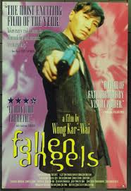 fallen film vf original fallen angels 1995 movie poster in vf condition for