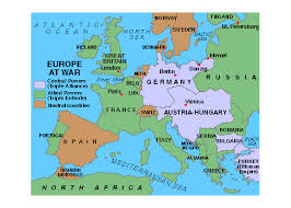 Ottoman Germany Germany Austria Hungary And Bulgaria Invade Serbia Our Family