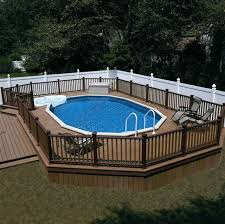 228 best above ground pool decks images on pinterest swiming