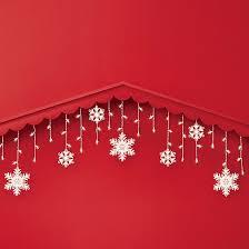 150ct snowflake icicle string lights clear wondershop