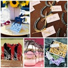 horseshoe party favors western themed shower bridal shower ideas theme